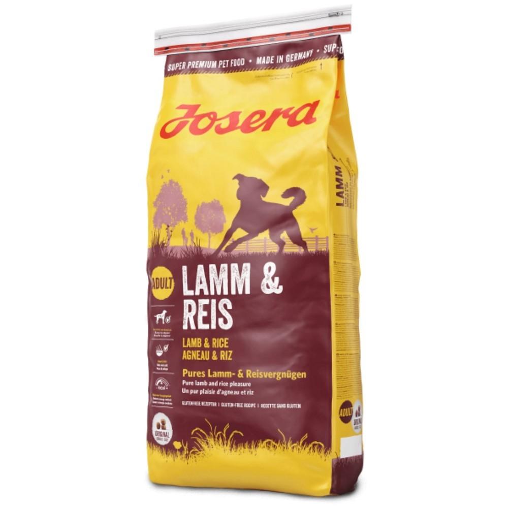 Josera jehněčí s rýží 15kg