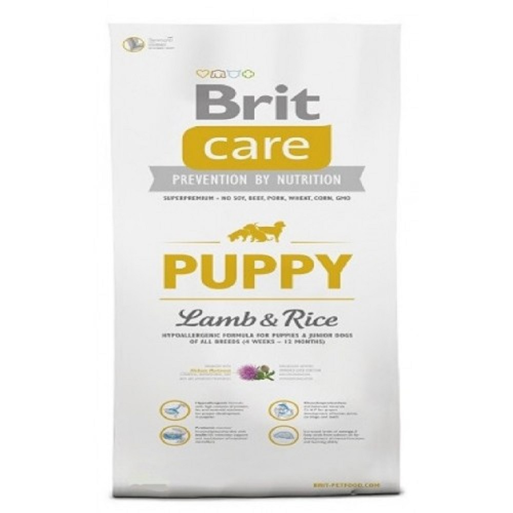 Brit care 12kg Puppy L+R