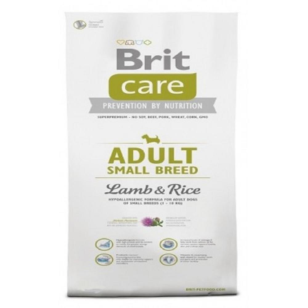 Brit care Adult SB - jehněčí s rýží 3kg