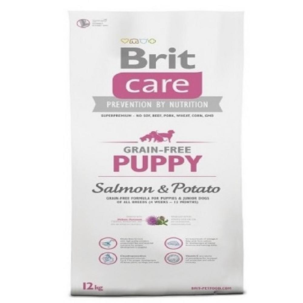 Brit care 12kg Puppy losos s bramborem