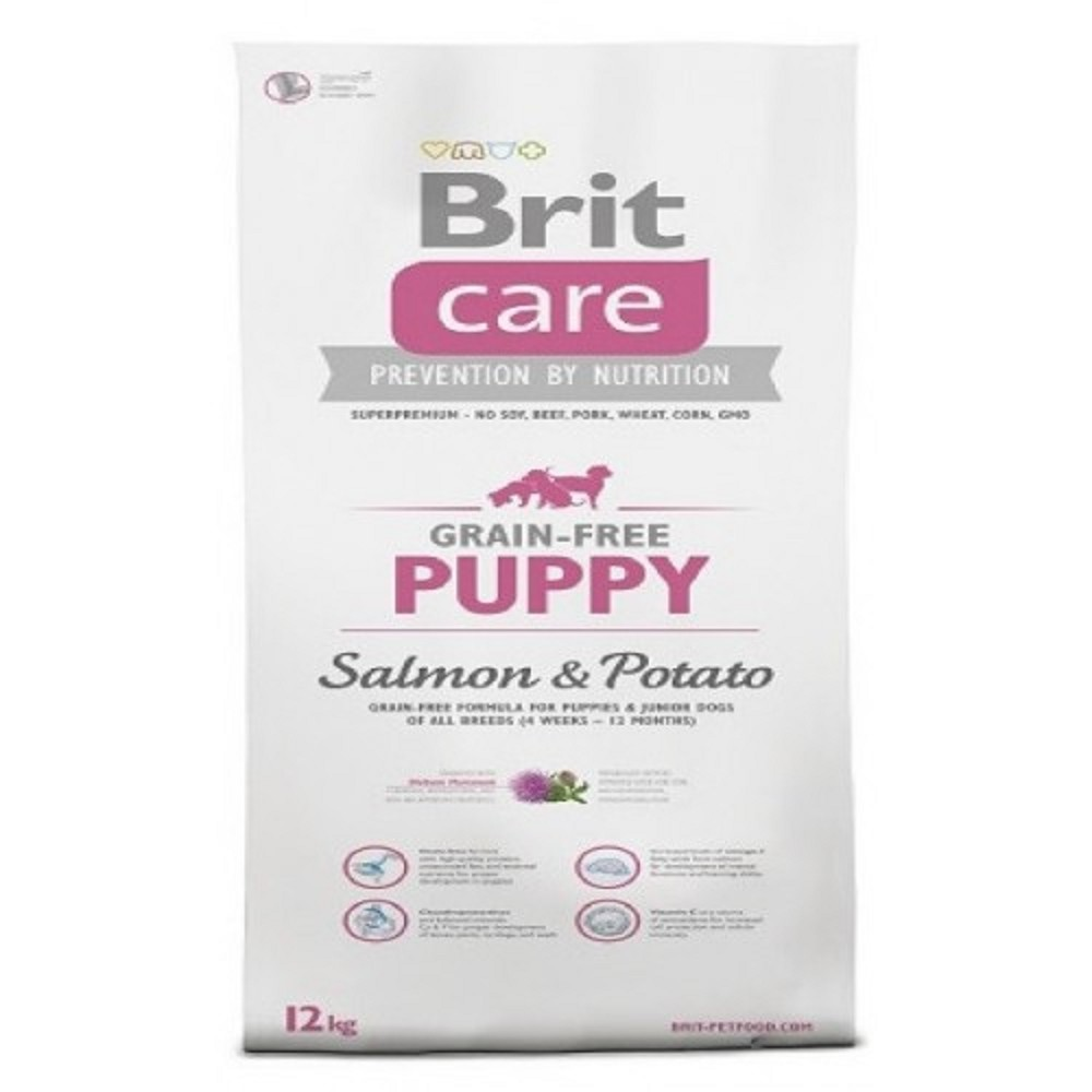Brit care Puppy - losos s bramborem 3kg