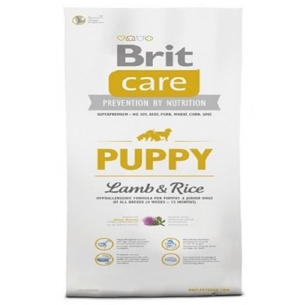 Brit care Puppy - jehněčí s rýží 1kg