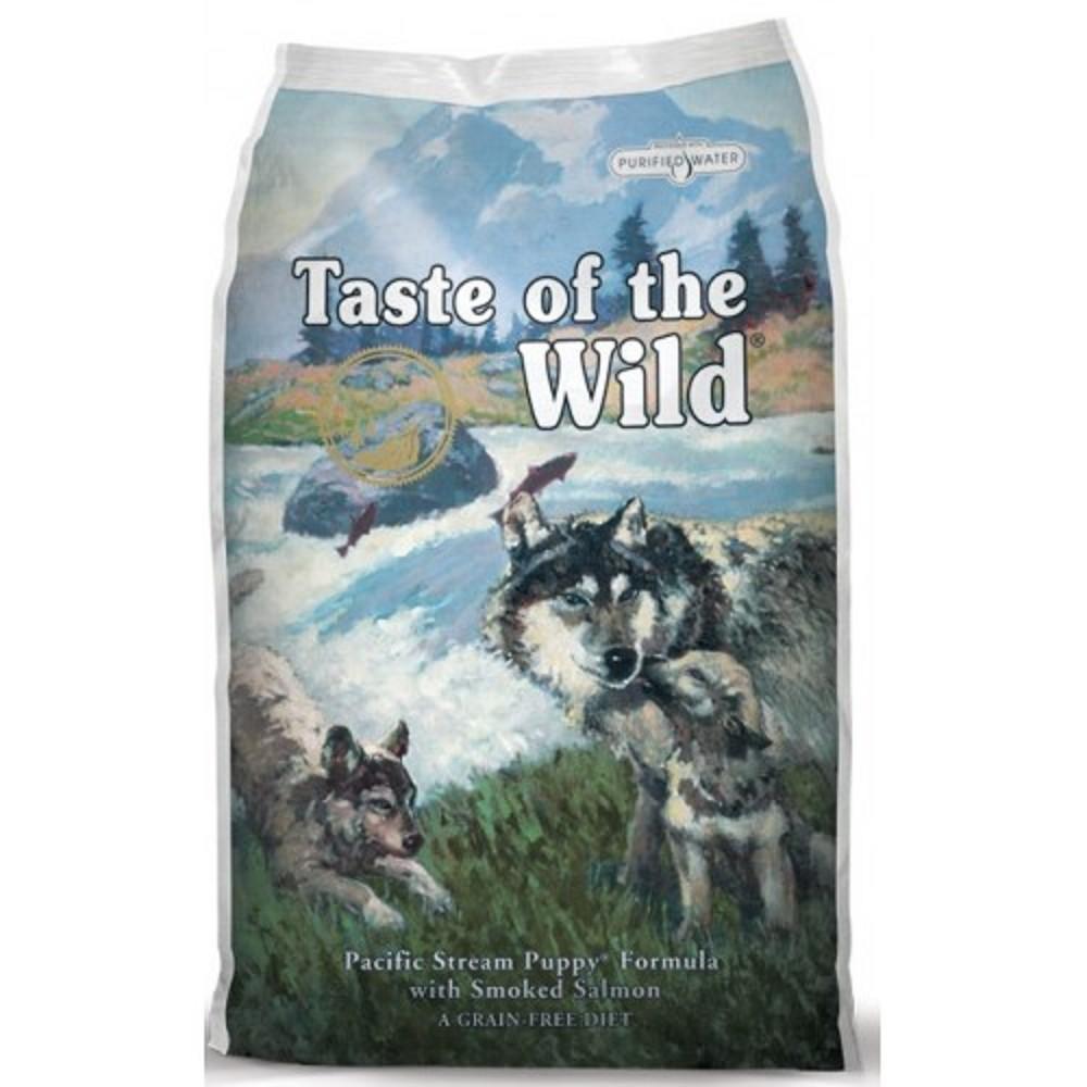 Taste of the Wild losos a mořské ryby pro štěně 13kg