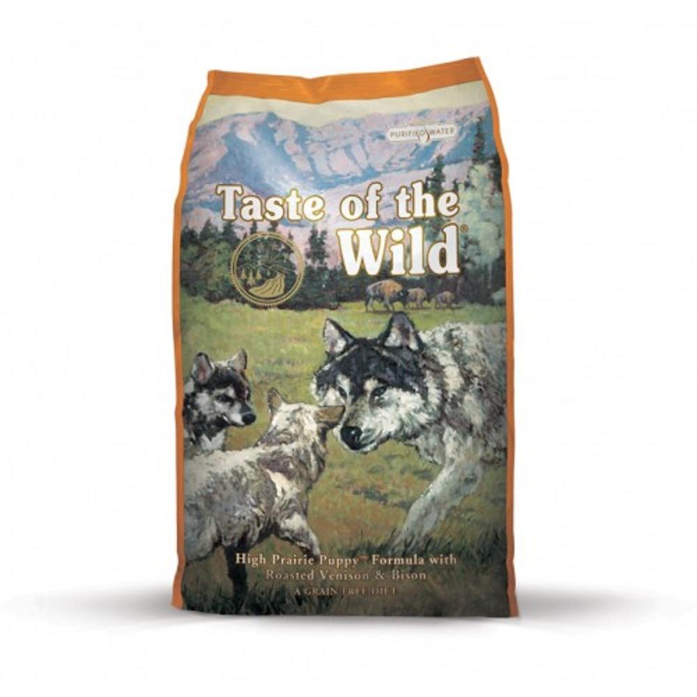 Taste of the Wild bizon a zvěřina pro štěně 13kg