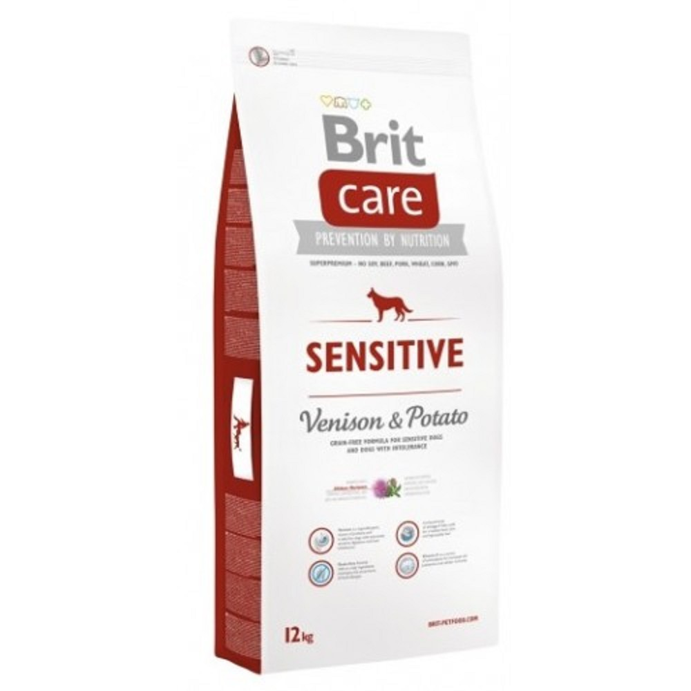 Brit care Sensitive - zvěřina s bramborem 12kg