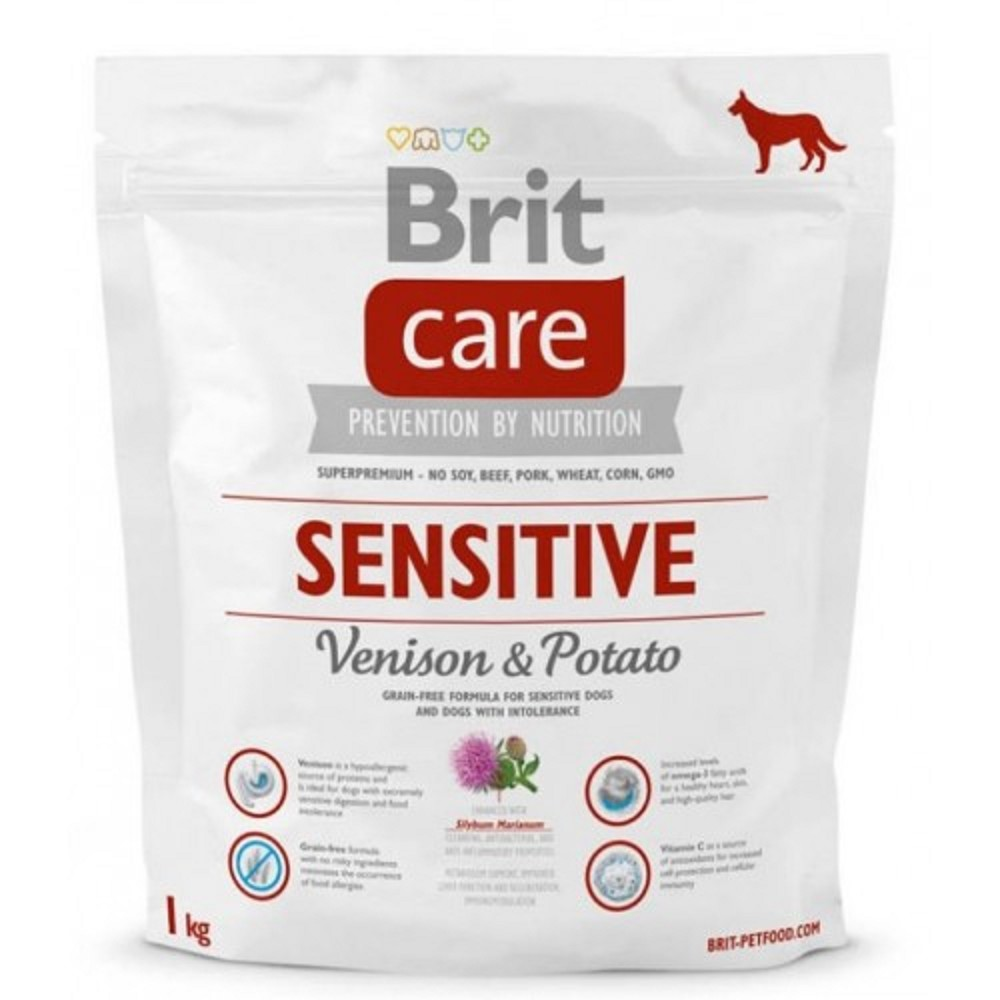 Brit care Sensitive - zvěřina s bramborem  1kg