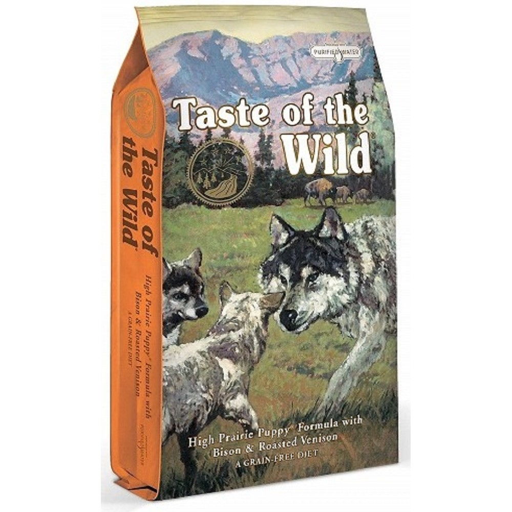 Taste of the Wild bizon a zvěřina pro štěně 2kg