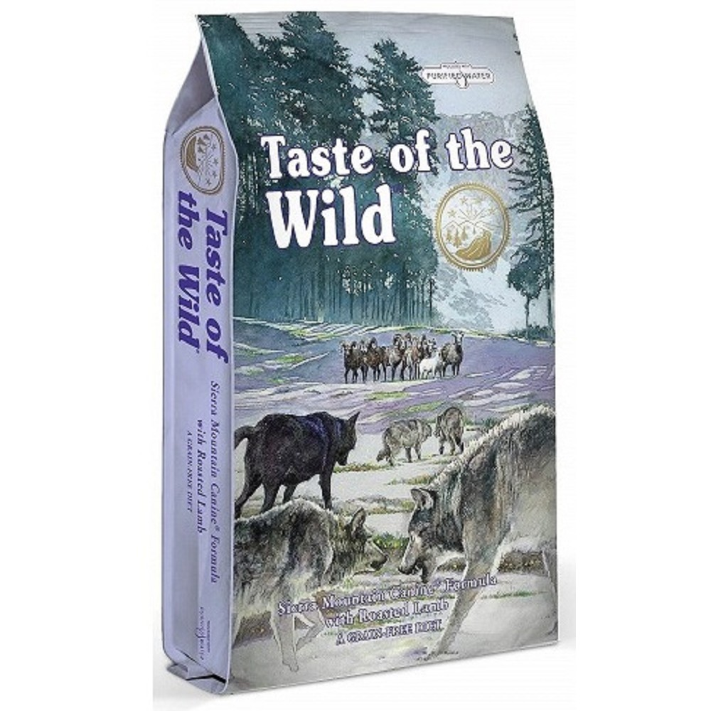 Taste of the Wild -  jehněčí a divočák 2kg