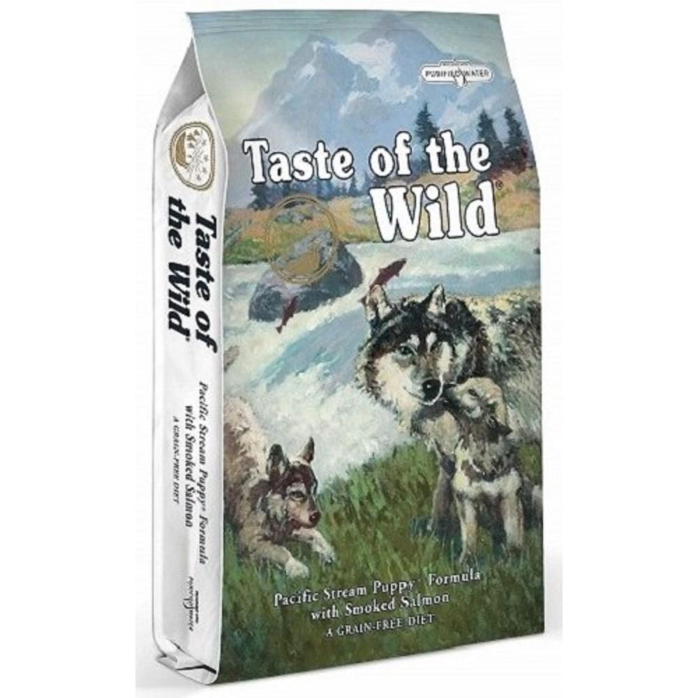 Taste of the Wild pro štěňata - losos a mořské ryby 2 x 6kg