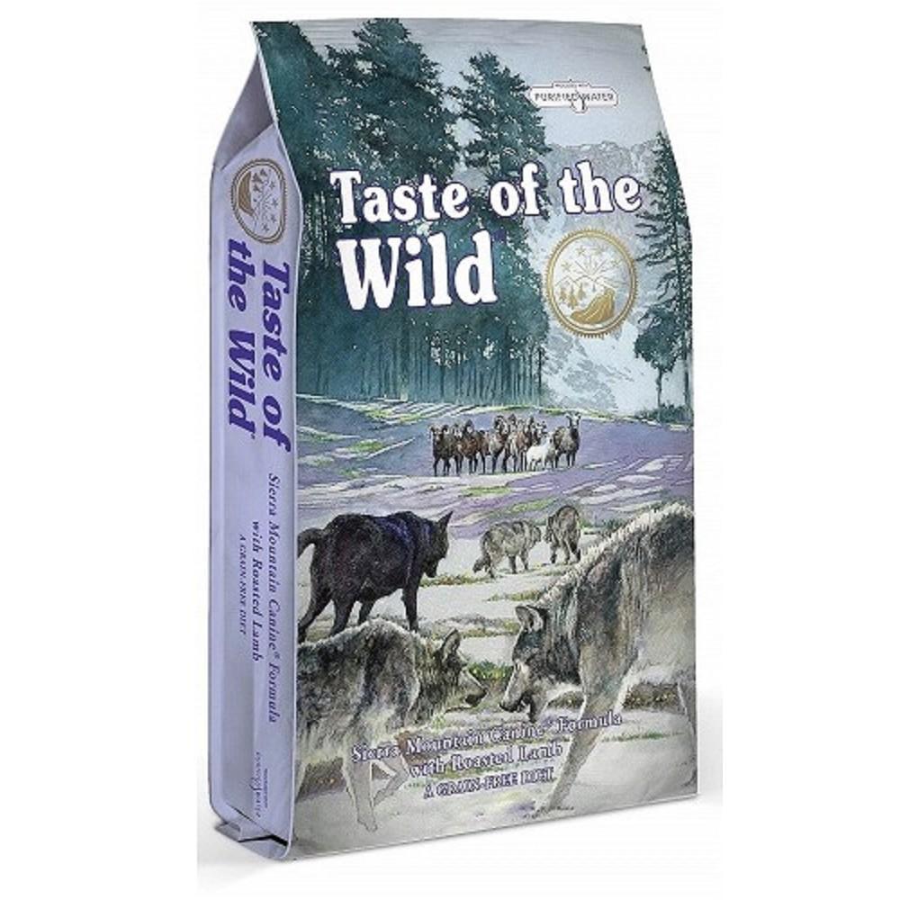 Taste of the Wild jehněčí s batáty a hráškem 6kg