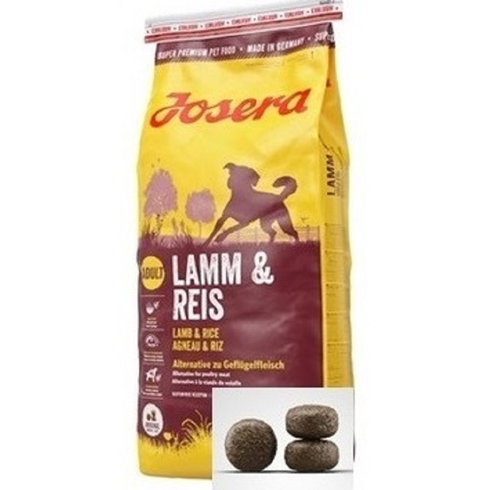 Josera 15kg Lamm & Reis