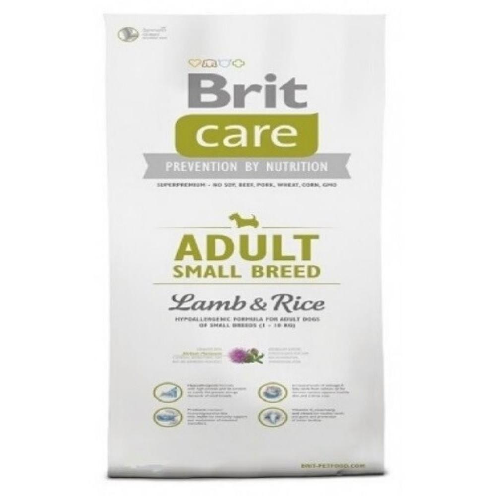 Brit care 7,5kg SB Adult jehněčí s rýží