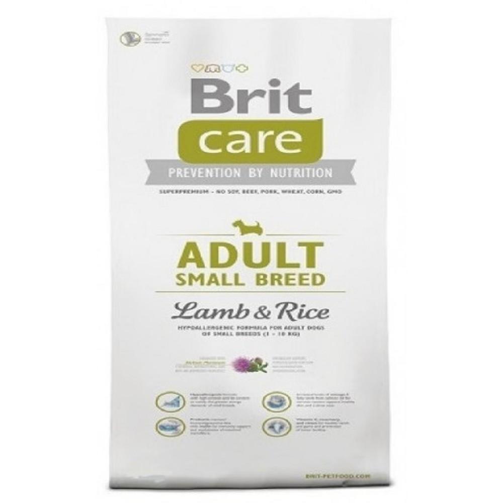 Brit care Adult SB - jehněčí s rýží 7,5kg