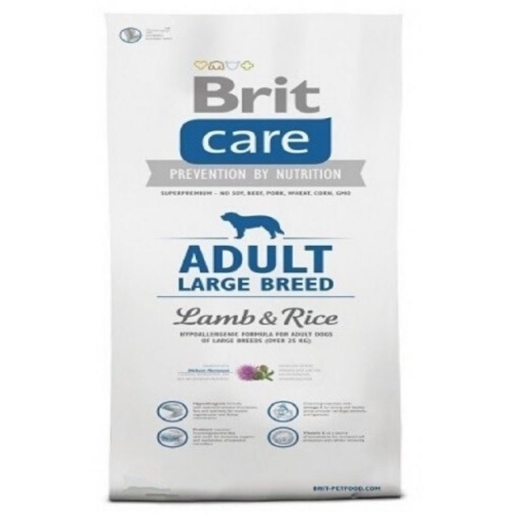 Brit care Adult LB -  jehněčí s rýží 12kg