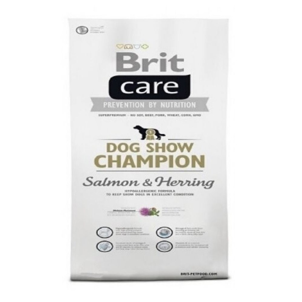 Brit care 12kg Adult show Champion losos + sleď