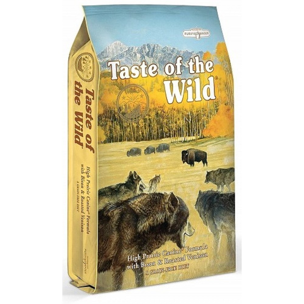 Taste of the Wild - bizon se zvěřinou 2kg