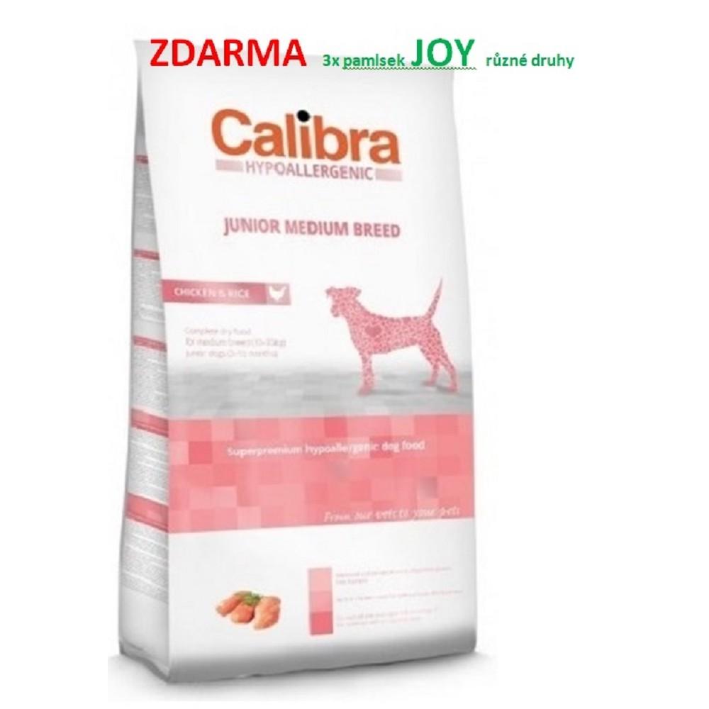 Calibra junior MB kuře s rýží (hypoalergenní) 14kg