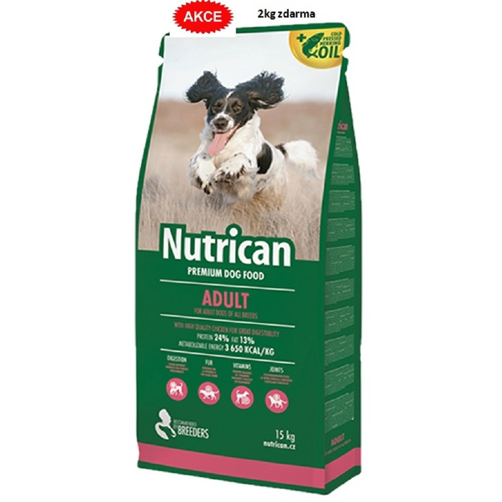 Nutrican 15+2kg Adult dog