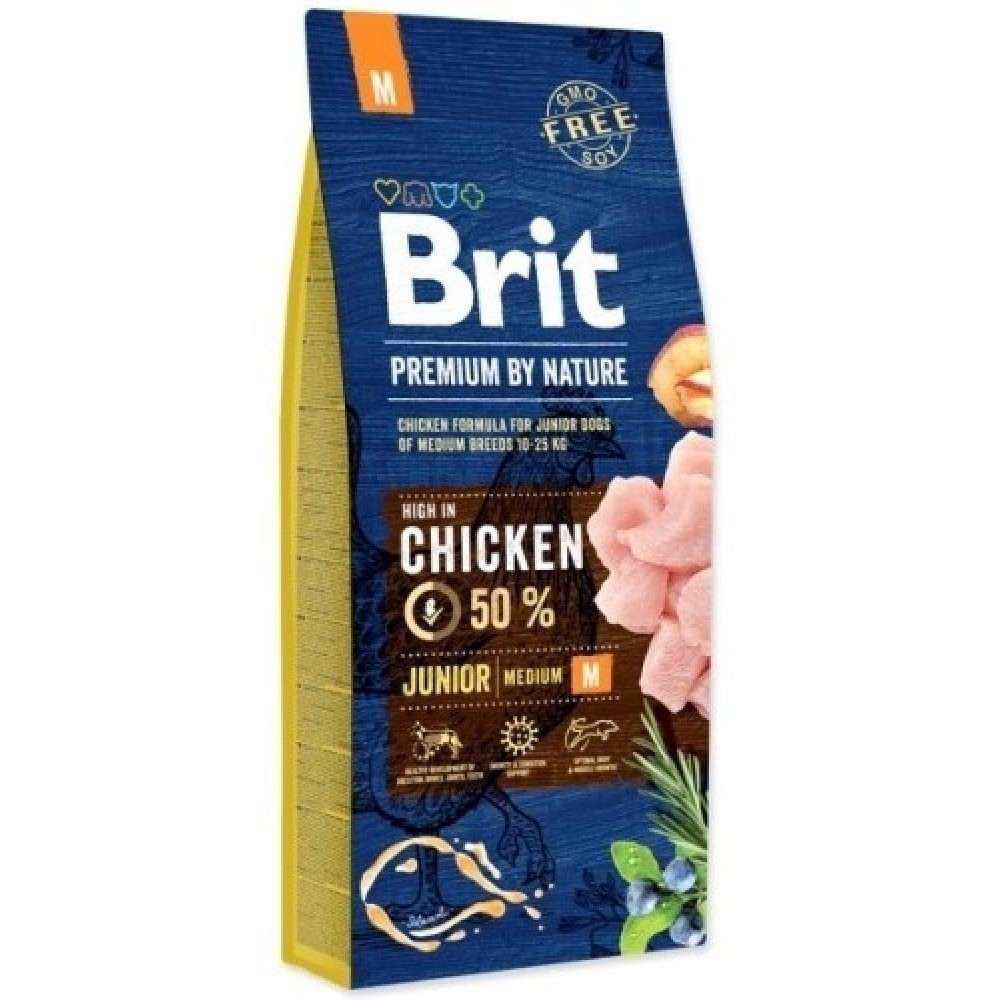 Brit premium Nature Junior M 15kg