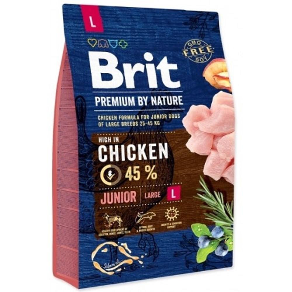Brit premium Nature Junior L 3kg