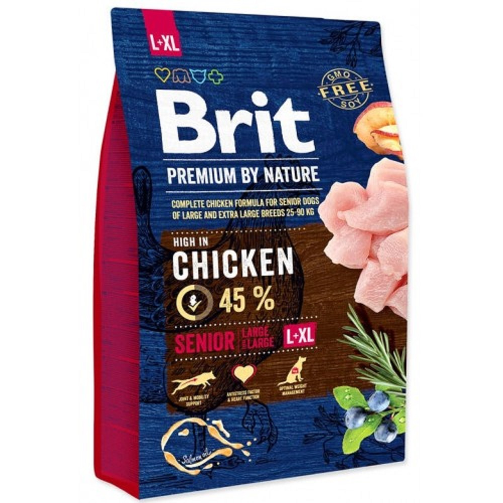 Brit premium Nature Senior L/XL  3kg