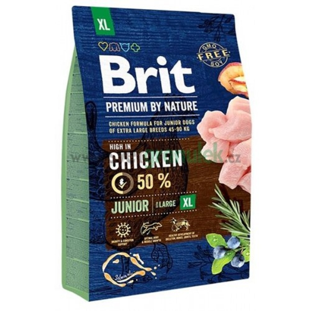 Brit premium Nature Junior XL 3kg