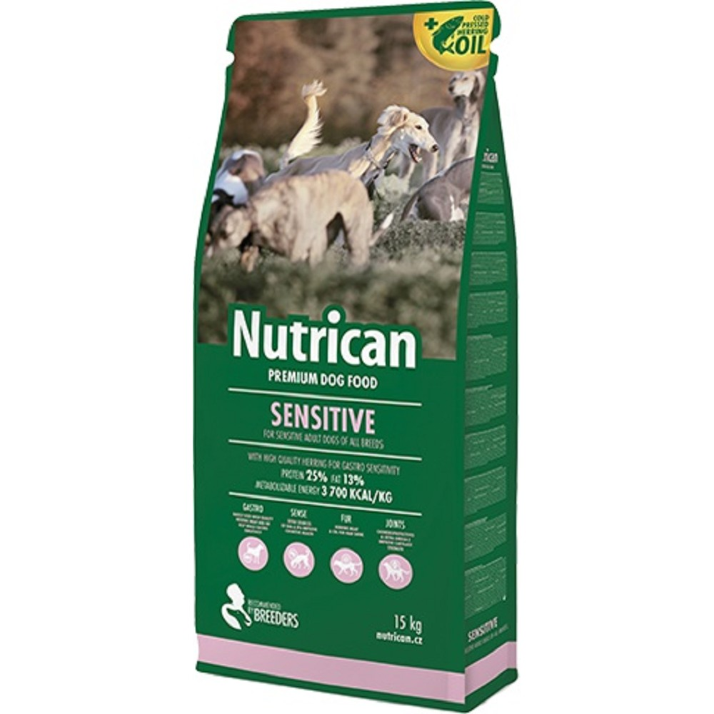 Nutrican  Sensitive 15+2kg ZDARMA