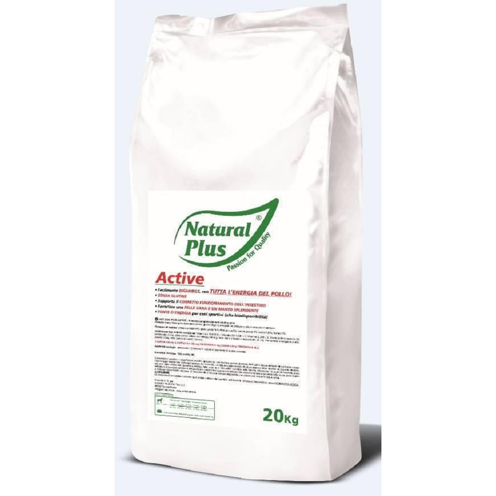 Natural Plus Active kuřecí 20kg