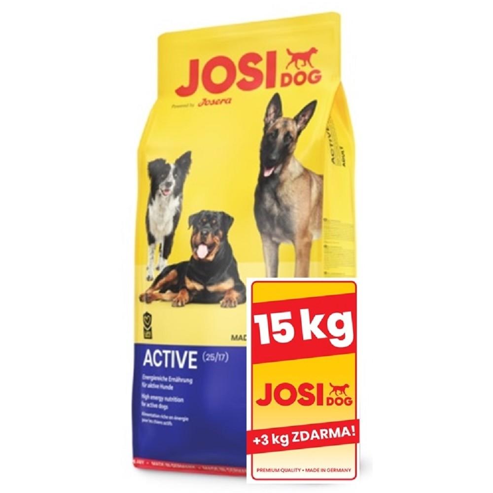 JosiDog Active 15+3kg  ZDARMA