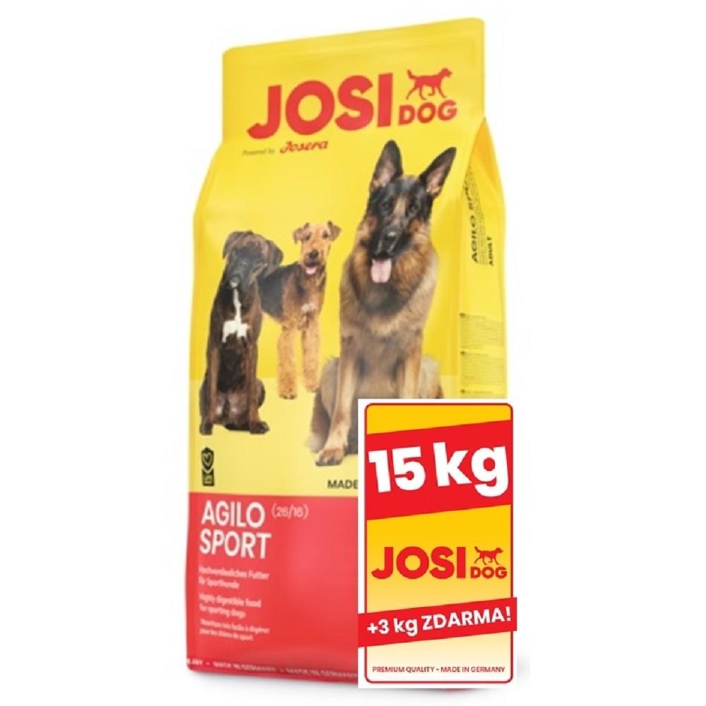 JosiDog Agilo Sport 15+3kg ZDARMA