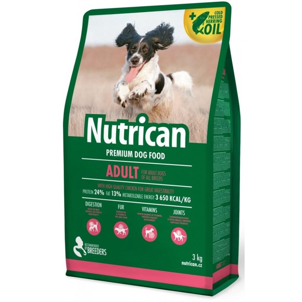 Nutrican adult S/M 3kg