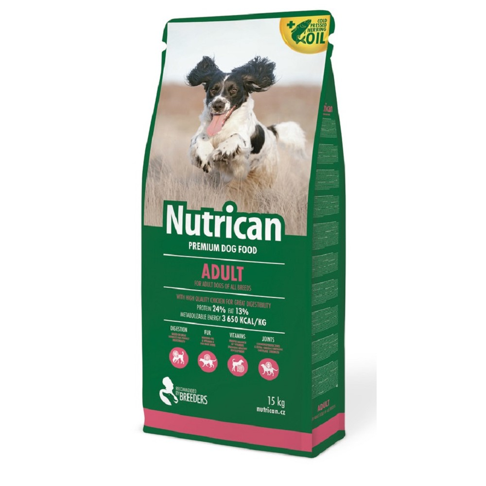 Nutrican 15kg Adult dog