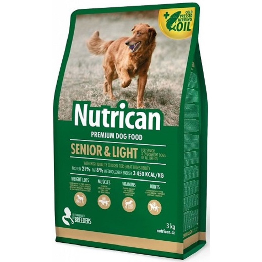 Nutrican senior/light  3kg