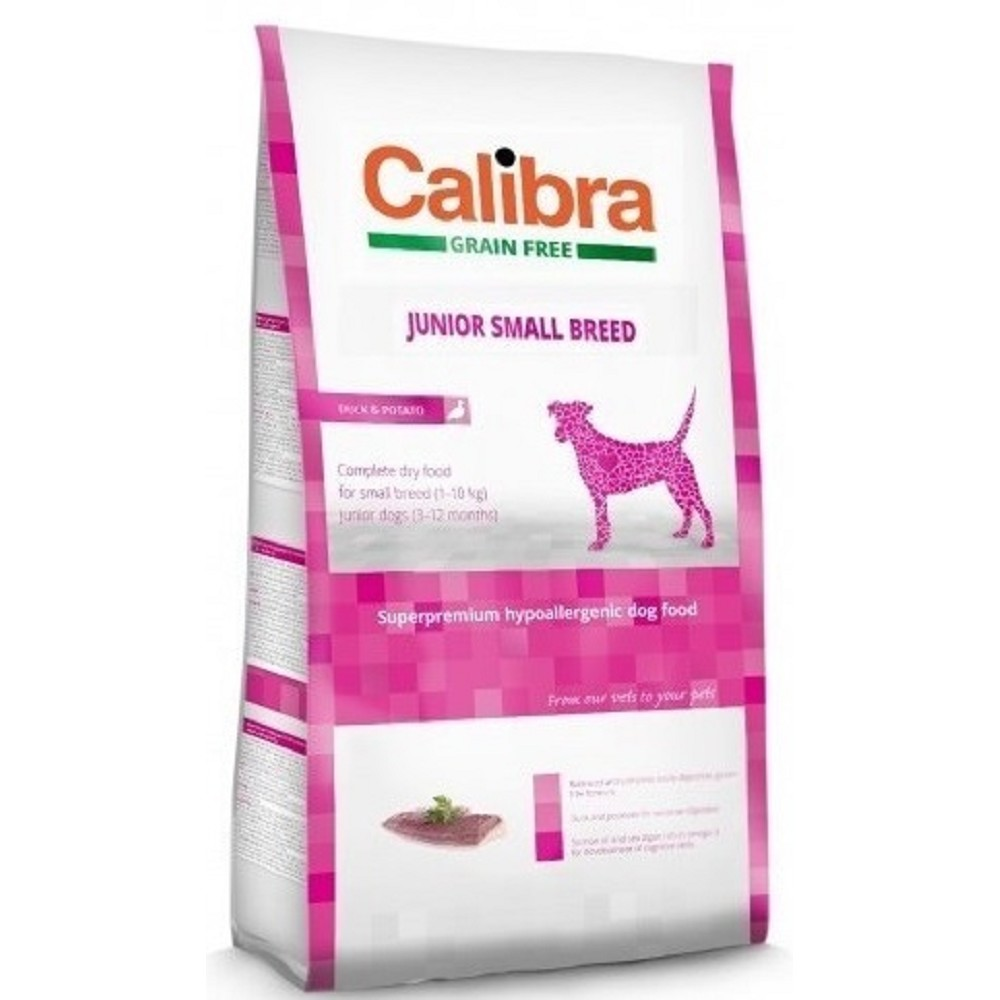 Calibra junior SB kachna (grain-free) 7kg