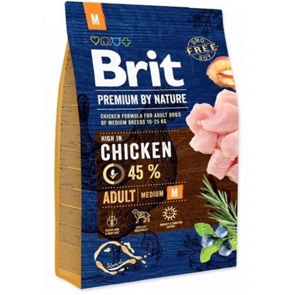 Brit premium Nature Adult M 1kg