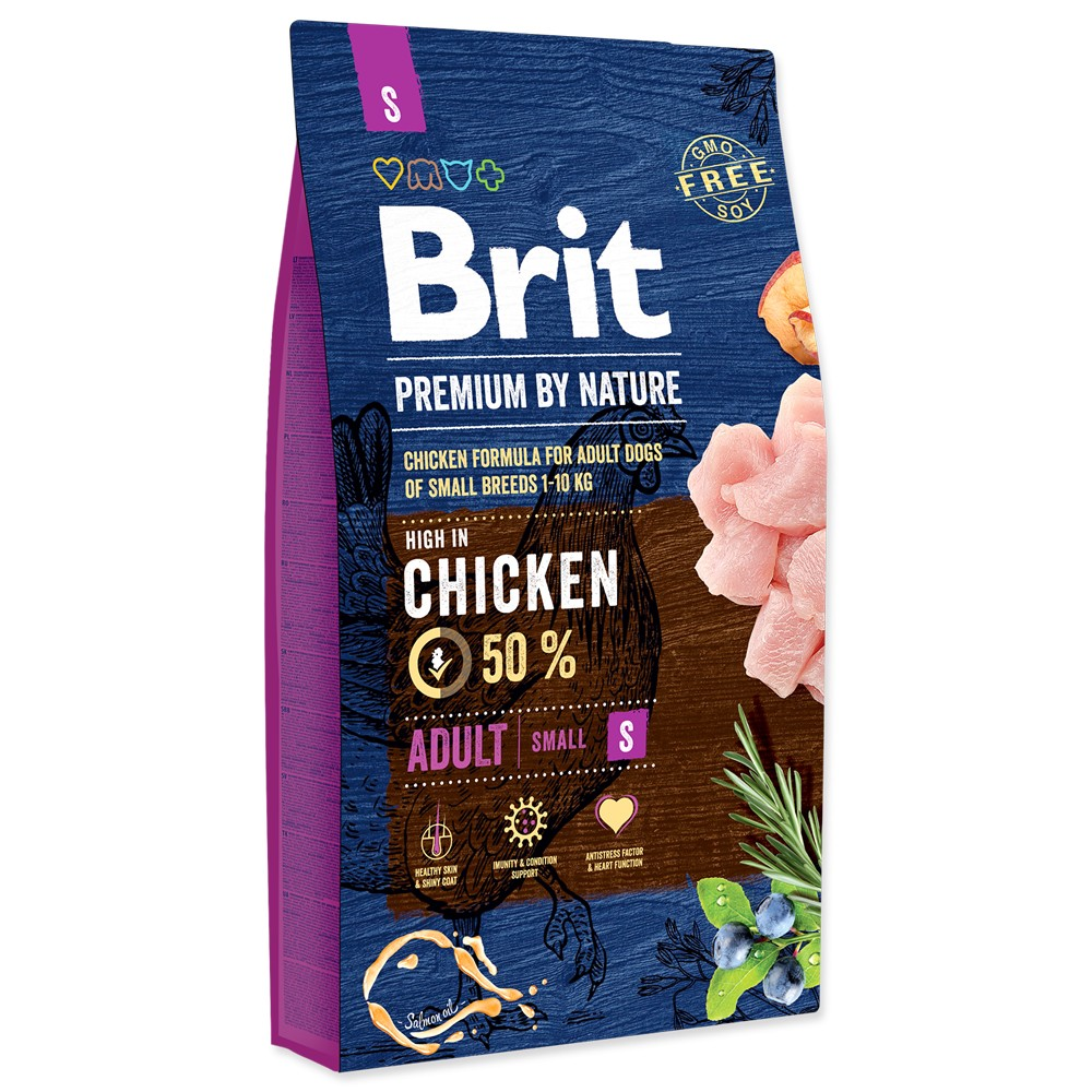 Brit premium Nature Adult S  8kg