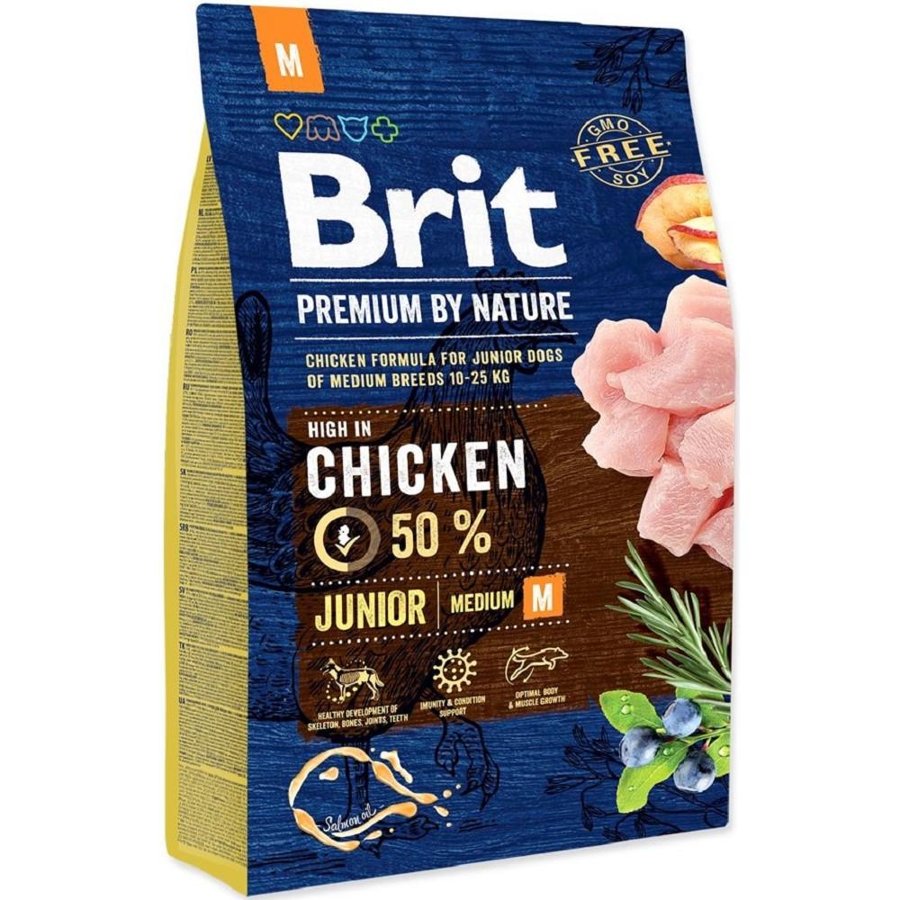 BRIT  PREMIUM NATURE JUNIOR M 3 kg