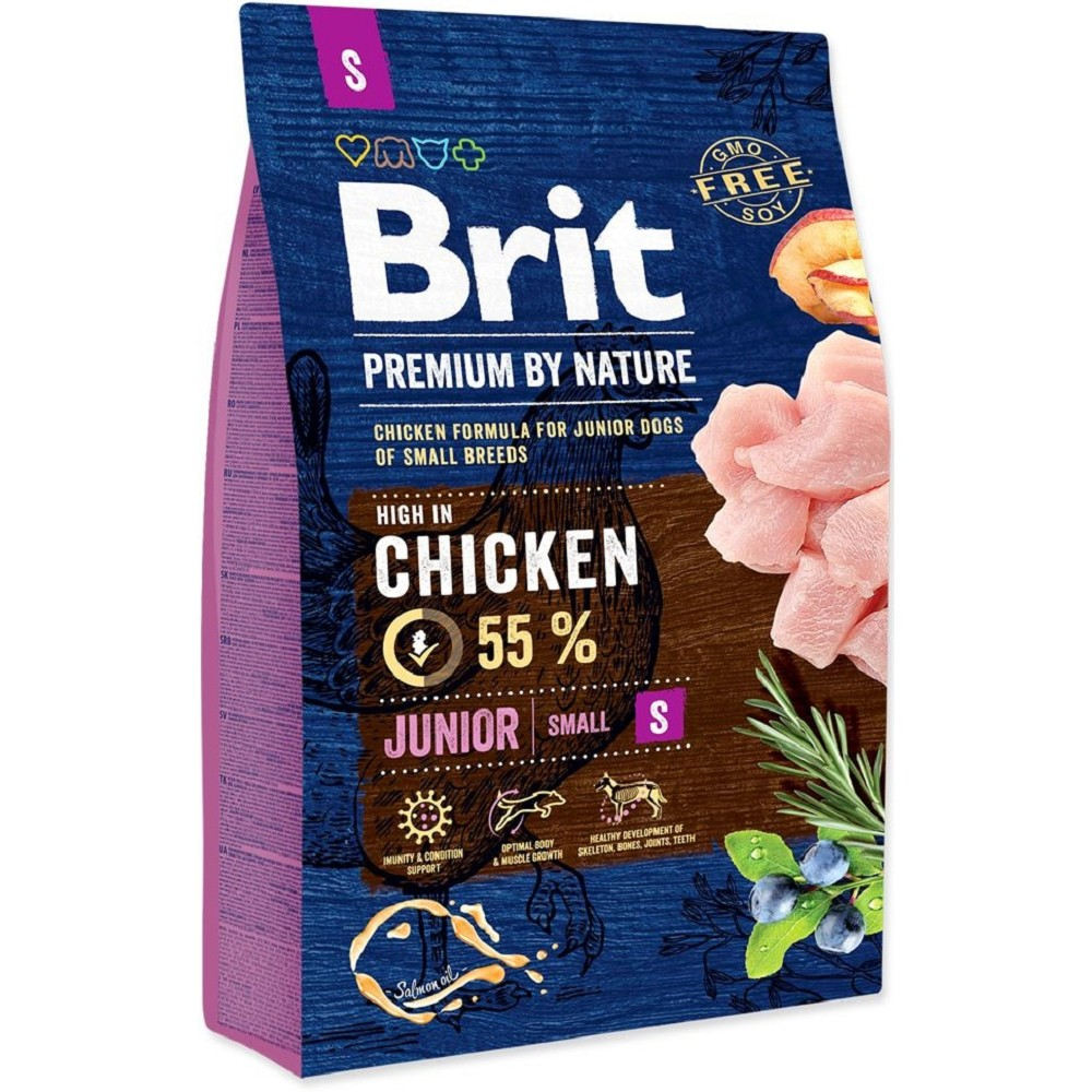 Brit premium Nature Junior S 1kg