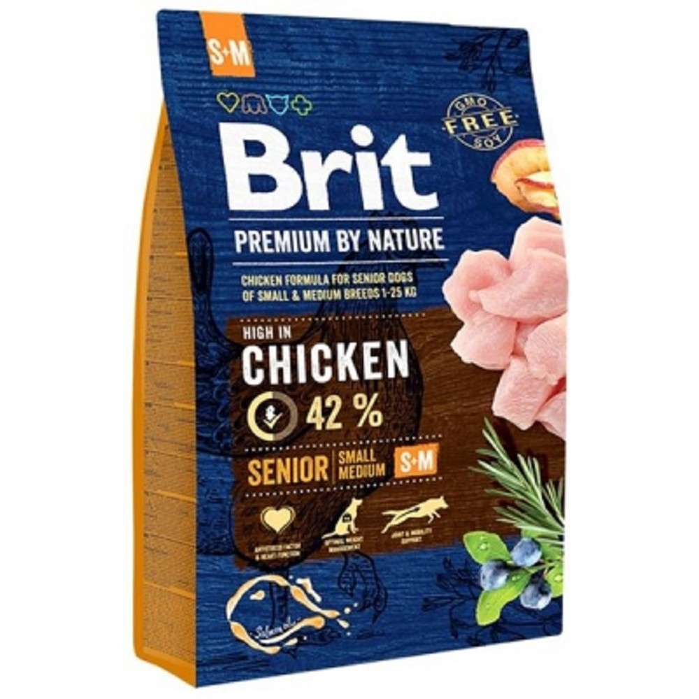 Brit premium Nature Senior S/M 3kg