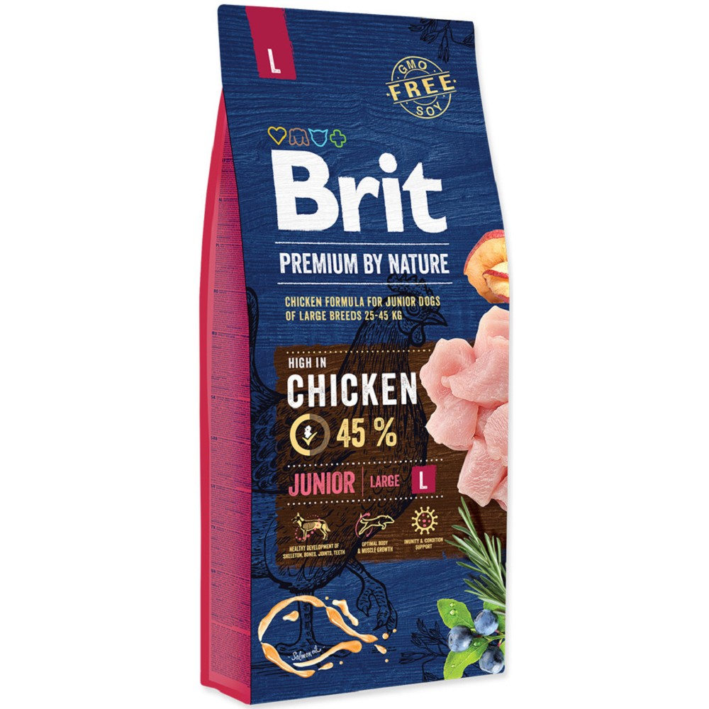 Brit premium Nature Junior L 15kg