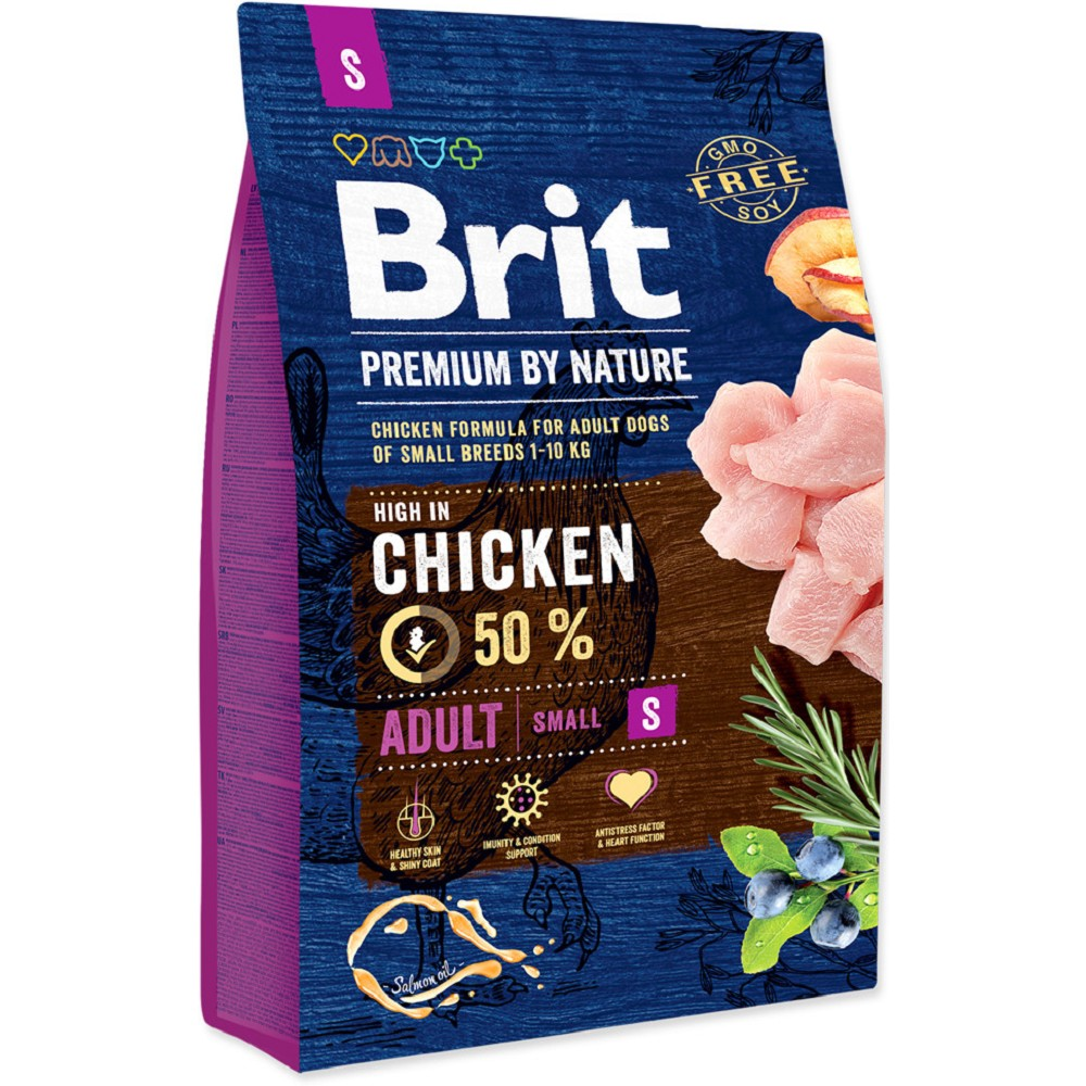 BRIT 1KG PREMIUM NATURE ADULT S