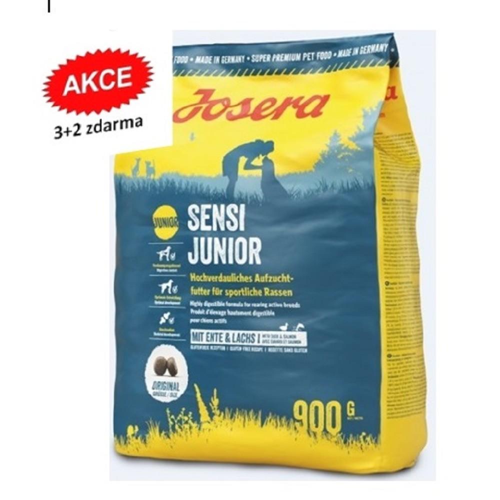 Josera Sensi Junior 900g  3+2 zdarma