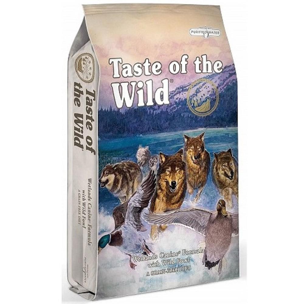 Taste of the Wild kachna s křepelkou 12,2kg