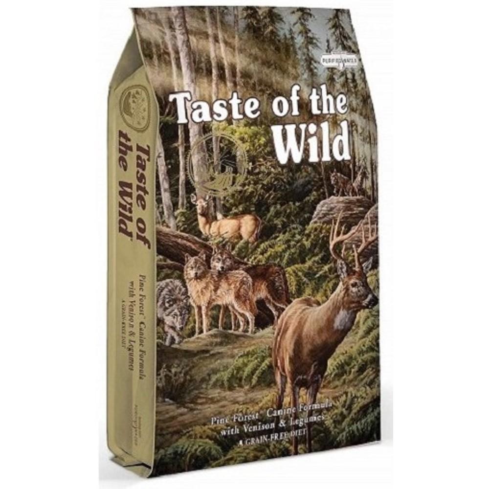 Taste of the Wild - zvěřina s luštěninami 12,2kg