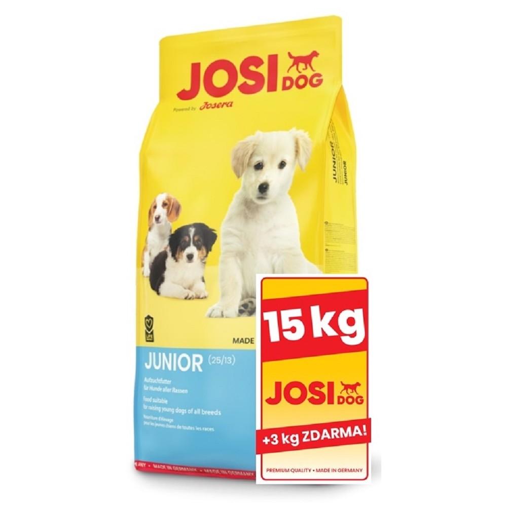 JosiDog Junior 15+3kg ZDARMA