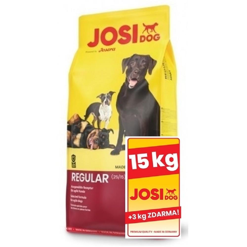 JosiDog Regular 15+3kg ZDARMA