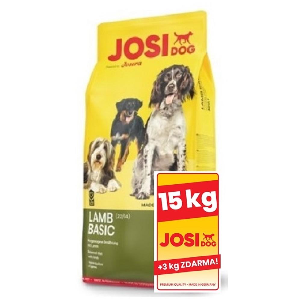 JosiDog Lamb Basic 15+3kg ZDARMA