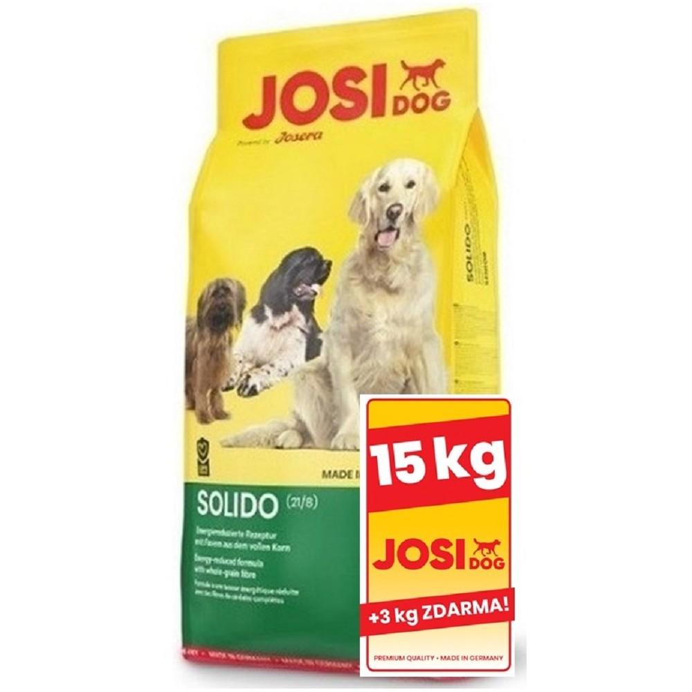 JosiDog Solido 15+3kg ZDARMA