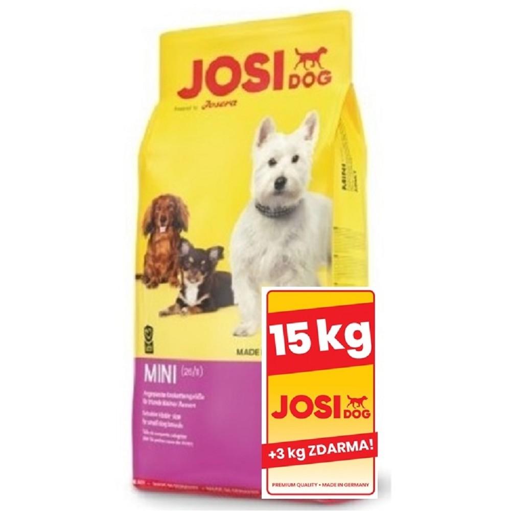 JosiDog Mini 15+3kg ZDARMA