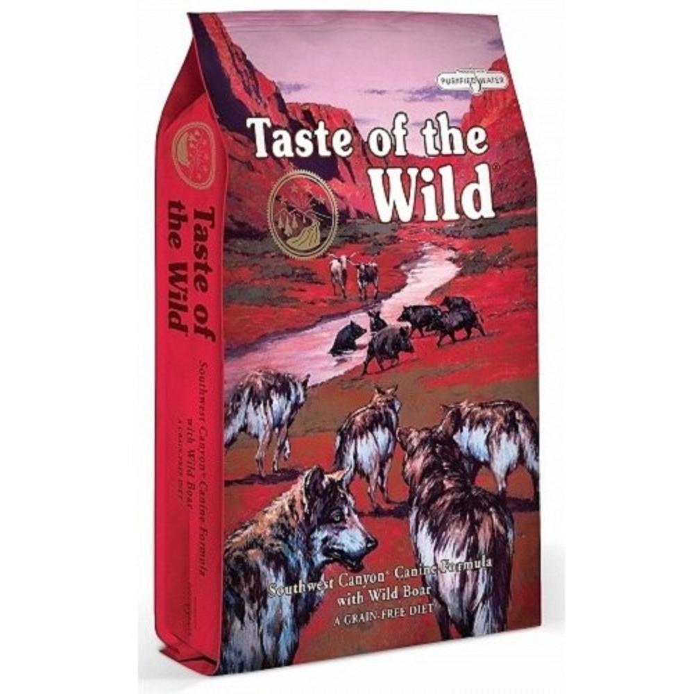 Taste of the Wild - hovězí s divočákem  5, 6kg